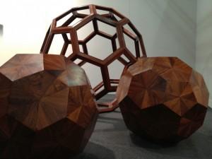 Ai Weiwei, Huali wood sculptures. Gallery Hyundai, Seoul.