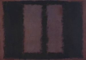 galleryIntell_Black on Maroon 1958 by Mark Rothko 1903-1970