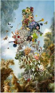 Ben Blatt, Flotolla, Phillips Watercolors Show © Ben Blatt
