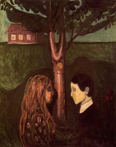 Edvard Munch, 'Attraction'. Munch Museum