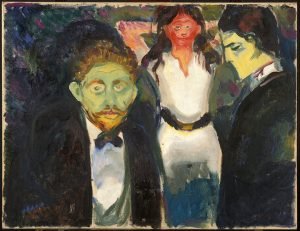 Edvard Munch, 'Jealousy', 1907 Munch Museum
