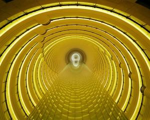 Golden Atrium Shanghai, Michael Eastman. Image courtesy Barry Friedman Gallery, © Michael Eastman