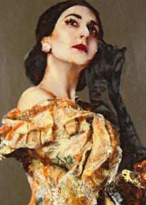 Maria Callas, Image © Lita Cabellut