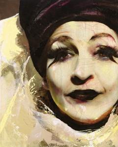 Marlene Dietrich, Image © Lita Cabellut