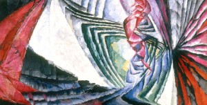 František Kupka, 'Localisations de mobiles graphiques I' (Localization of graphic motifs I), 1912–13. Oil on canvas