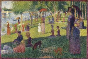 Georges Seurat - Study for A Sunday on La Grande Jatte