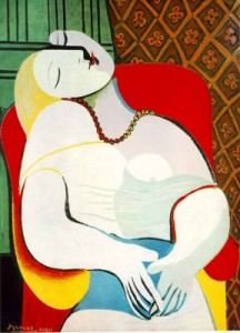 Pablo Picasso, Le Rêve 1932. Oil on canvas. Sold by Steve Cohen for $155 million
