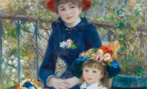 Pierre Auguste Renoir - Two Sisters (On the Terrace)