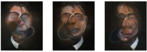 Francis Bacon, 'Three Studies for Self-Portrait'