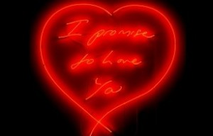 Tracey Emin, 'I Promise to Love You Forever' - Times Square