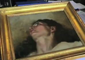 Courbet Origin of the World - the other half?