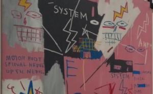 Jean Michel Basquiat at Gagosian Gallery