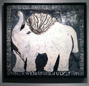 Outsider Art Fair 2013 - William Hawkins