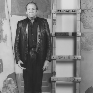 Robert Rauschenberg, 1983. Image courtesy Sean Kelly Gallery and Robert Mapplethorpe Foundation