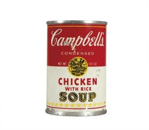 Andy Warhol - Chicken Soup
