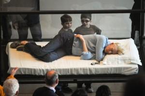 Tilda Swinton at MoMA
