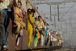 Mumbai Train by Niteen Kasle