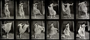Dancing Girl, Eadweard Muybridge. Image courtesy Laurence Miller Gallery