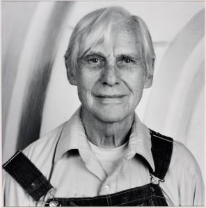 Willem de Kooning 1986 by Robert Mapplethorpe 1946-1989. Image courtesy Sean Kelly Gallery and Robert Mapplethorpe Foundation