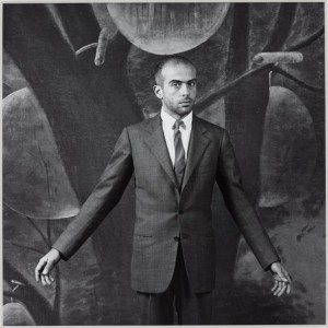 Francesco Clemente 1985 by Robert Mapplethorpe 1946-1989 Image courtesy Sean Kelly Gallery and Robert Mapplethorpe Foundation
