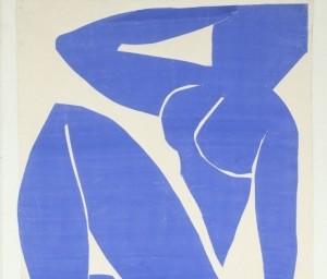 Henri Matisse Blue Nude. Image courtesy Sotheby's