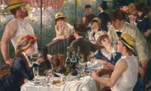 Pierre-Auguste Renoir - Luncheon of the Boating Party, 1881. The Phillips Collection, Washington D.C.