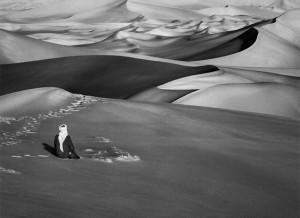 Sebastiao Salgado: Algeria, Sahara. GENESIS. Image courtesy Peter Fetterman Gallery