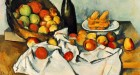 Paul Cezanne, 'Still Life with Bottle and Apple Basket', 1893. Oil on canvas