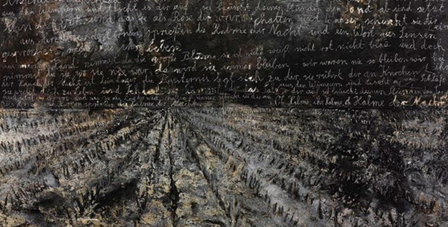 Anselm Kiefer at Gagosian Gallery, 21 street