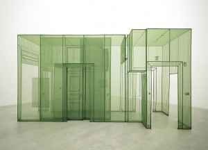 Do Ho Suh, Wielandstr. 18, 12159, Berlin, 2011, polyester fabric, edition of 3. Image courtesy Lehman Maupin Gallery