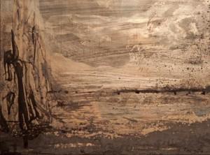 Teresita Fernandez, detail. Image courtesy Lehman Maupin Gallery