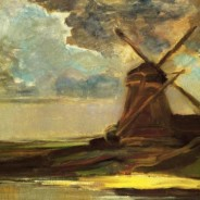 Piet Mondrian - Windmill in the Gein, 1907