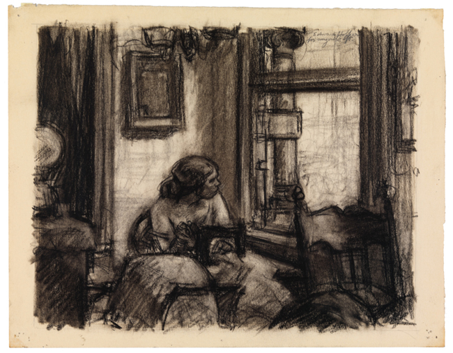 Edward Hopper Drawing