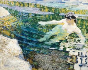 Frantisek Kupka, L'eau, 1906-1907