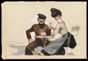 Edward Hopper - Couple Drinking