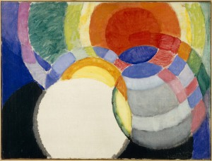 Frantisek Kupka, Disques de Newton. Étude pour Fugue à deux couleurs, 1911-1912, Oil on canvas, Collection Centre Pompidou, Musée National d'Art Moderne. Image © Musée National d'Art Moderne