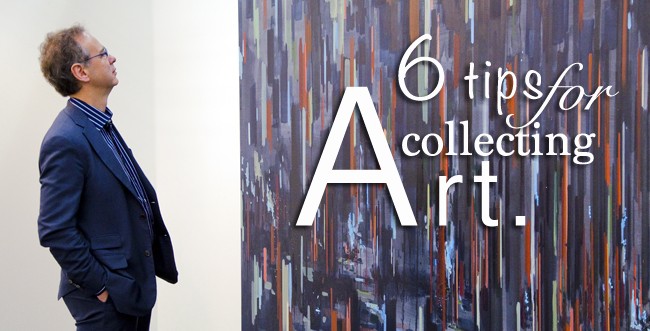 Tips for starting an art collection
