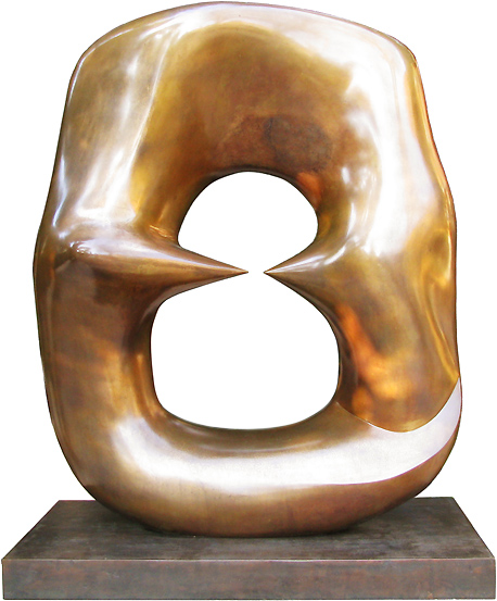 "Henry Moore - Working Model for Oval with Points"", 1968-69"