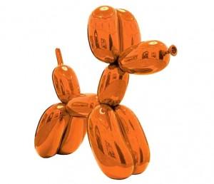 Jeff Koons, Orange Balloon Dog