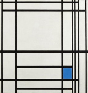 Piet Mondrian, 'Composition with Lines and Color III', 1937. Oil on canvas