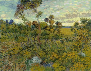 Van Gogh, 'Sunset at Montmajour', 1888, Oil on canvas