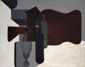 Guitar and Bottles (Guitare et bouteilles), 1920 Oil on canvas, 80.5 x 99.8 cm Peggy Guggenheim Collection, Venice 76.2553 PG 24 © Amédée Ozenfant, by SIAE 2008