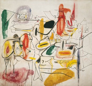 Untitled, Summer 1944 Oil on canvas, 167 x 178.2 cm Peggy Guggenheim Collection, Venice 76.2553 PG 152 © Arshile Gorky, by SIAE 2008