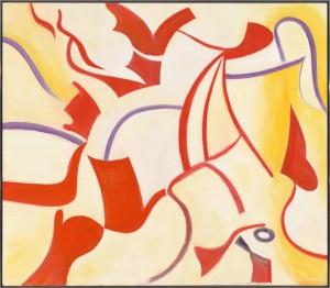 """Willem de Kooning """"Privileged"""" Untitled XX, 1985"""