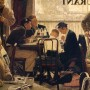 Norman Rockwell. Saying Grace, 1951. Oil on canvas