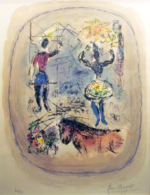 Marc Chagall Cirque a l'Etoile