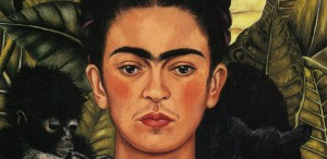 Frida Kahlo - Self-Portrait with thorns and hummingbird