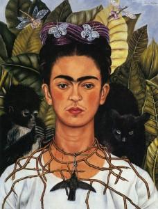 Frida Kahlo, Self Portrait with Hummingbird