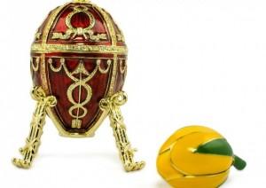 Rosebud Egg, Faberge replica