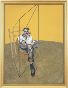 Francis-Bacon - Left panel